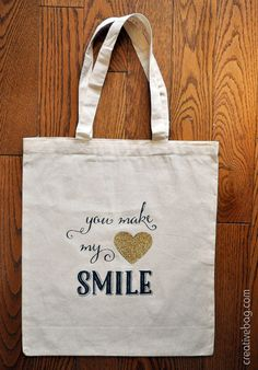 you can do it yourself - customize our cotton and burlap tote bags