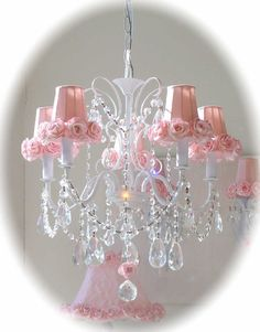 Lavender Fields Home Boutique: New Shabby Romantic Chandeliers