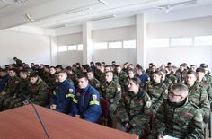 Υποδοχή των πρώτων 93 Δόκιμων Πυροσβεστών στη σχολή στην Πτολεμαΐδα (φωτογραφίες)