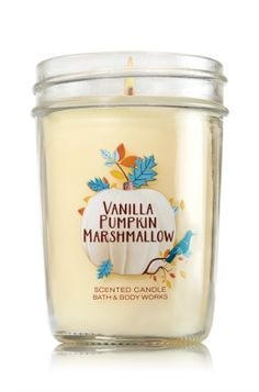 Vanilla Pumpkin Marshmallow Medium Candle - Home Fragrance 1037181 - Bath & Body Works