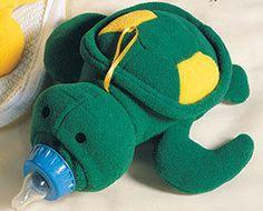 Baby Bottle Huggers Turtle