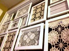 Dishfunctional Designs: Creative Uses For Old Lace Remnants & Crochet Doilies
