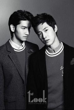 TVXQ - 1st Look Magazine #changmin #yunho