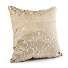 Taupe Bambu Pillow at Kirkland's