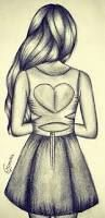 Image result for sketch of a girl's hair