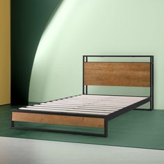 Suzanne Metal and Wood Platform Bed Frame with Headboard Shelf and USB – Zinus shelf Suzanne Metal and Wood Platform Bed Frame with Headboard Shelf and USB Port Headboard With Shelves, Bed Frame And Headboard, Wood Headboard, Headboards For Beds, Bed Frames, Wood Platform Bed, Upholstered Platform Bed, Upholstered Beds, Twin Size Bed Frame