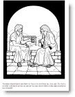 Jesus Talking With Nicodemus Many Printables Bible Coloring PagesBible