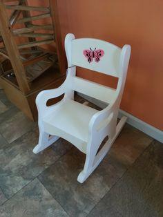 Details About Child S Wooden Rocker Rocking Chair W Baby