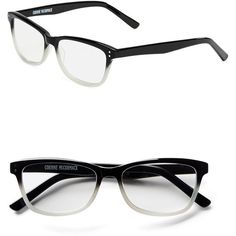 Corinne Mccormack Kayla 50mm Reading Glasses ($62) ❤ liked on Polyvore featuring accessories, eyewear, eyeglasses, rectangular glasses, rectangle eyeglasses, rectangular eyeglasses, reading eye glasses and corinne mccormack