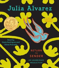 Return to Sender by Julia Alvarez:After his family hires migrant Mexican workers to help save their Vermont farm from foreclosure, eleven-year-old Tyler befriends the oldest daughter, but when he discovers they may not be in the country legally, he realizes that real friendship knows no borders.