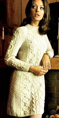 Free Knitting Pattern Ladies Dress : 1000+ images about Knit Dresses on Pinterest Knit dress, Drops design and S...