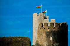 Caerphilly Castle, South Wales... #Wales #Castle #Photography #Welsh #Flag #UK #Travel #Photographer #GraphicDeisgn #Design #Creative #Canon #6D #DSLR  www.sarahnelsoncarter.com