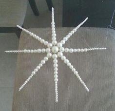 Estrela com perolas