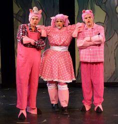 3 pigs – Shrek the Musical