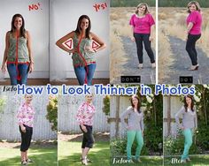 13 Poses That Will Make You Look Thinner in Photos. Poses that make you look thinner, how to stand in photos to look thinner