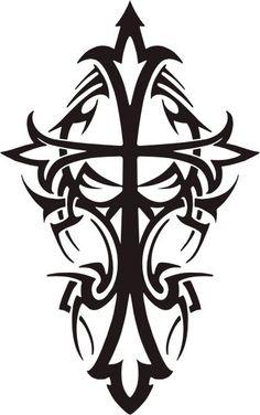 feminine cross tattoos feminine cross tattoos for women free tattoo ...