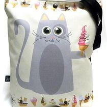 Duża torba z kotami, torby XXL - damskie