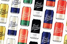 East Brother Beer Co. Branding