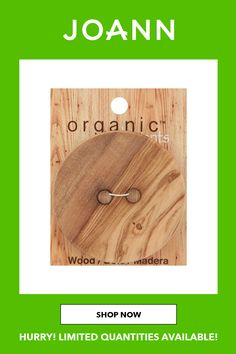 This Organic Elements Extra Large Wood 2 Hole Button is great for coats and yarn projects. The sew - through button is washable and dry cleanable.Brand: Organic ElementsSize: 70 millimeterContent: WoodCare: Washable & Dry cleanable #WartsOnHands Warts On Hands, Warts On Face, What Causes Warts, Types Of Warts, Get Rid Of Warts, Remove Warts, Skin Moles, Acne Skin, Skin Growths