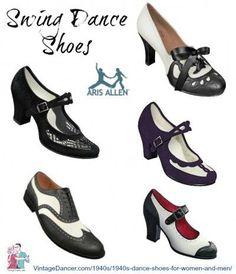 1940s dance shoes by Aris Allen