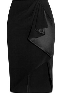 ALTUZARRA Ruffled Crepe Skirt. #altuzarra #cloth #skirt