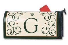 Grande Manor Monogram G Magnetic Mailwrap