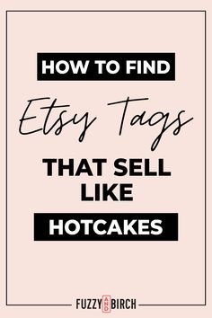 You're in for a treat today... Hotcakes! Really, and the whipped cream? A how-to from a trained SEO expert. Let's talk about how the expert would pick Etsy tags! What are Etsy tags? They are Etsy keywords, these are what get you on the first page of search, the first page of search means faster and more frequent sales. Crazy right? Want some berries on your hotcakes? There are tools that pick your tags for you! And these tools are what the experts use. So why not learn to use them yourself? How Do I Get, How To Make Money, Let It Be, Starting An Etsy Business, Computer Algorithm, Etsy Seo, I Quit, Describe Yourself, First Page
