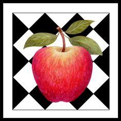 Apple on Checks (Stephanie Stouffer)