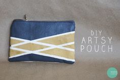 Painted Pouch | 39 DIY Christmas Gifts You'd Actually Want To Receive