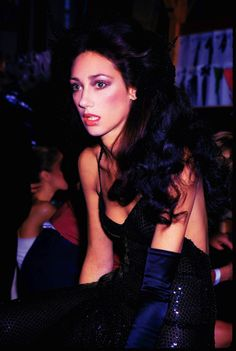 Marisa Berenson wearing a sequin Halston at Le Grand Divertissement, Versailles, 1973 http://questmag.com/winter-2015/