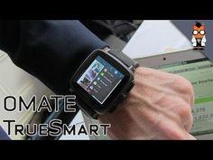 Omate TrueSmart - 3G Waterproof Smartwatch with HD Camera (+playliste)