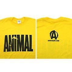 Universal Nutrition Animal T-Shirt Yellow Large