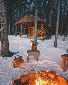 "cabinsdaily: ""Cabin of the day """