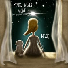 No matter how it might seem, you're never alone.never. xo Written & Illustrated by Princess Sassy Pants & Co. Sassy Quotes, Life Quotes, Quirky Quotes, Meaningful Quotes, Inspirational Quotes, Motivational Quotes, Nephew Quotes, Never Alone, Sassy Pants