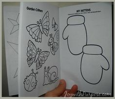 Did you know you can make your own Coloring Book? With these instructions from Mark