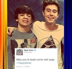 The Grier family has the best relationship, even thousands of miles apart.