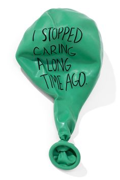 One deflated balloon can be found in your character's pocket. Where did it come from? Why is it there? Why is your character carrying it around?