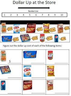 Life Skills - Menu worksheet to go along with menu! | For the ...