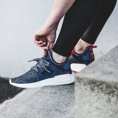 Cheap Adidas NMD R1 Nomad Runner Reflective Triple Black 3M Champs