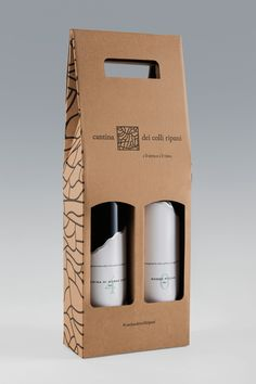 Colli Ripani Collection on Packaging of the World - Creative Package Design Gallery Packaging Carton, Honey Packaging, Craft Packaging, Bottle Packaging, Flower Packaging, Box Design, Wine Design, Bottle Design, Packaging Design Inspiration