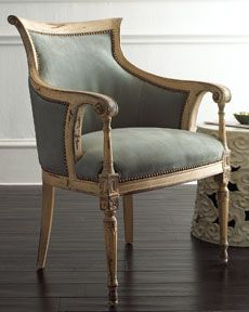 H4F06 Old Hickory Tannery Slate Gray Chair