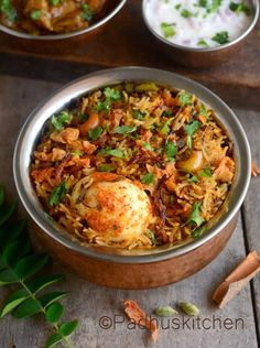 This egg biryani is a great treat for egg lovers. It is flavorful, delicious and very easy to make. Apart from hard boiled eggs, I have added scrambled eggs also to this biryani, which makes it even more delicious.