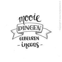 handlettering workshop – Happy You Workshops – Apeldoorn Bullet Journal Quotes, Bullet Journal Inspiration, Handlettering For Beginners, Words Quotes, Me Quotes, Bujo, Note Doodles, Printable Thank You Cards, Free Printable