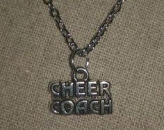 Cheerleader pendientes Plata pendientes de por TheCheerleadingShop
