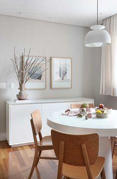 4 Steps to Create a Minimalist Dining Room Minimalist Dining Room, Minimalist Home, Dining Room Design, Dining Room Furniture, Sala Grande, Appartement Design, Dinner Room, Dream Decor, Contemporary Decor