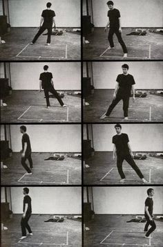 Bruce Nauman, 'Dance or Exercise on the Perimeter of a Square (Square Dance)', 1967–1968