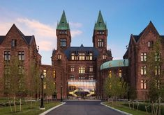Insane Asylum turned Boutique Hotel by Deborah Berke Partners