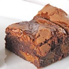 Dulce de Leche Brownies: hands down the best brownies I've ever made.