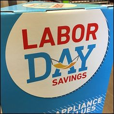 Labor Day Savings Sign Patch At Lowes – Fixtures Close Up Saving Tips, Lowes, Close Up, Patches, Appliances, Signs, Day, Gadgets, Accessories