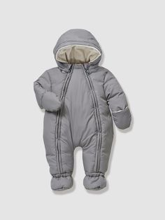 Newborn Convertible Snowsuit, Full Length Zip
